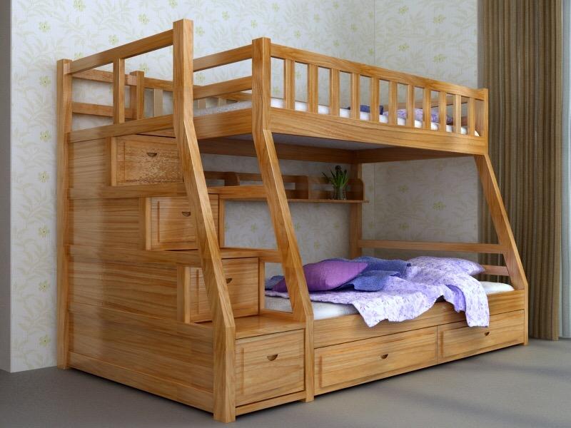 Nội thất Duy Nghiêm - Phòng ngủ bé yêu